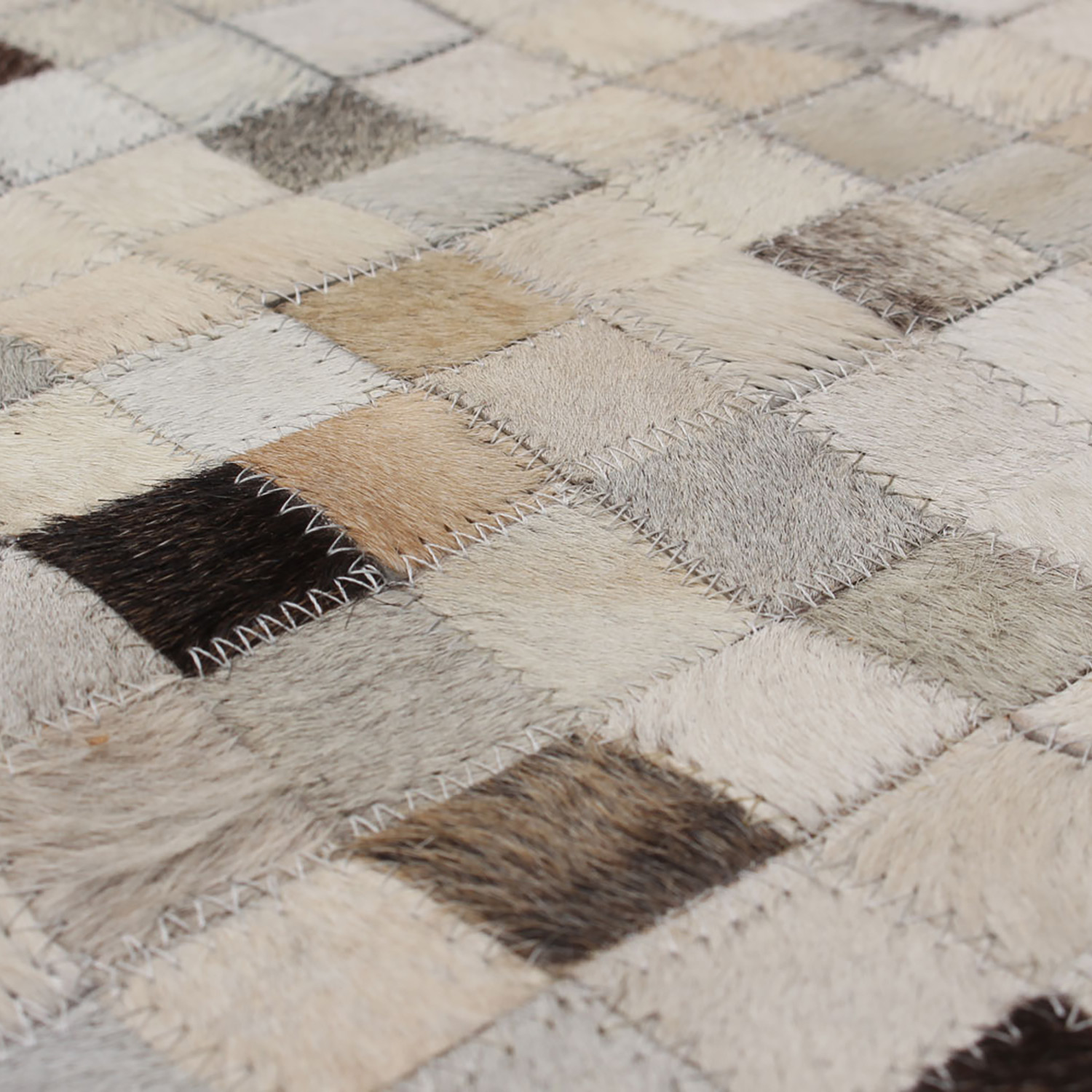 Patchwork rug new york ecarpet gallery touch of modern for Cowhide rugs nyc