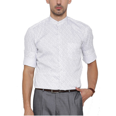 Fano Dress Shirt // White