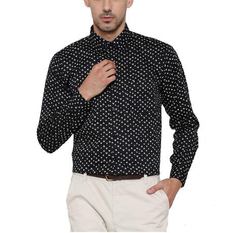 Bagheria Dress Shirt // Black