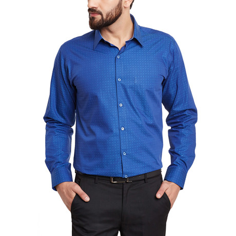 Bitonto Dress Shirt // Navy