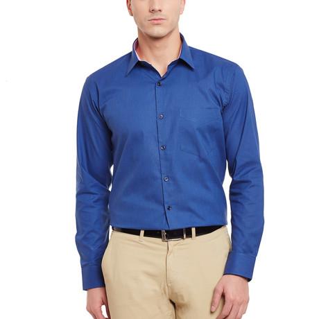 Brindisi Dress Shirt // Royal Blue