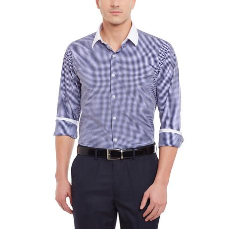 Cuneo Dress Shirt // Blue + White