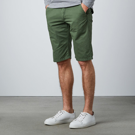 Casual Shorts // Olive