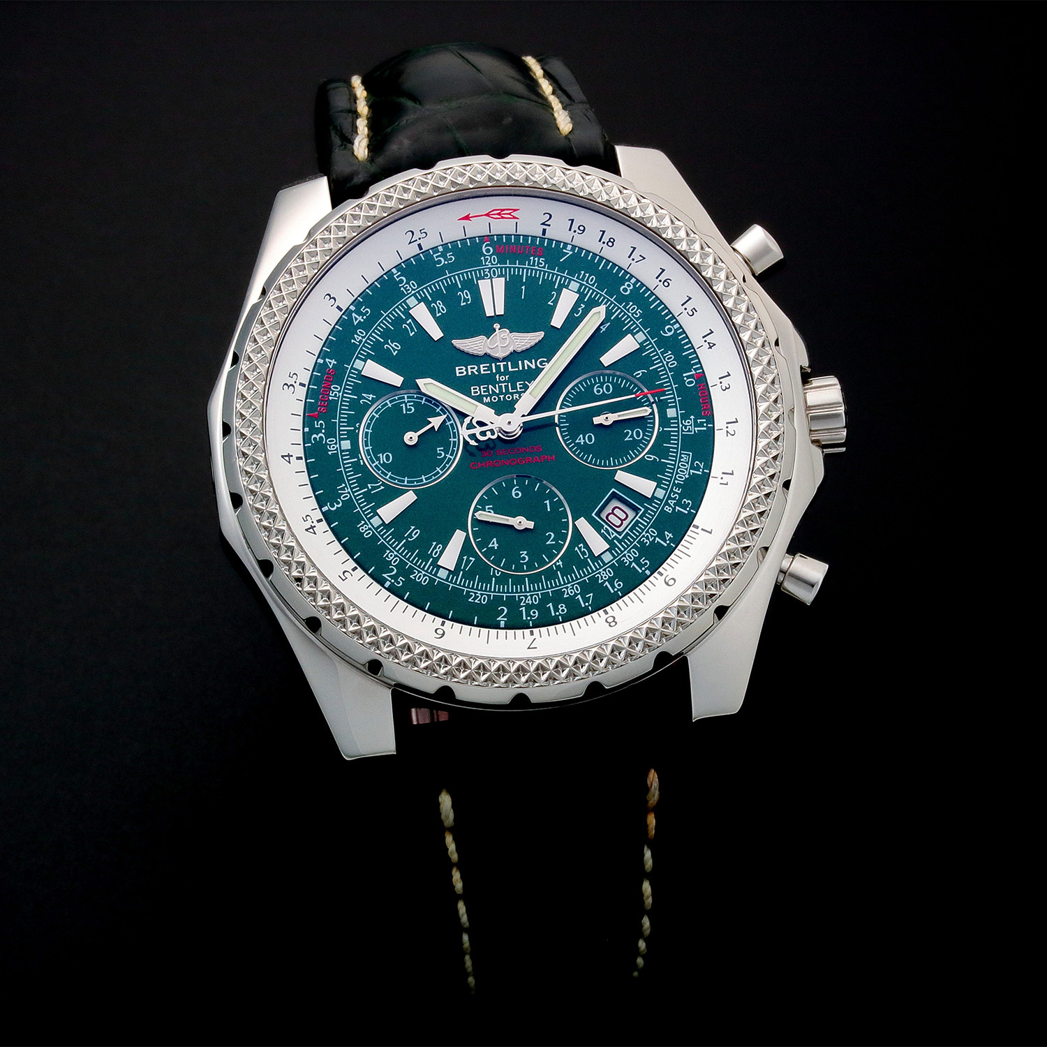 Used Bentley For Sale: Breitling Bentley Chronograph Automatic // A25362 // Pre
