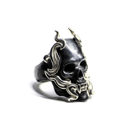 Black Mayla Ring (Size: 5)