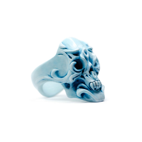 Orchid Ring // Blue