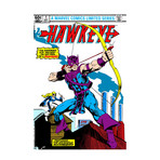 "Marvel Comics // Hawkeye Issue Cover #1 (18""W x 26""H x 0.75""D)"