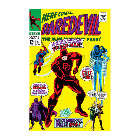 "DaredEvil, Issue #27 Cover (18""W x 26""H x 0.75""D)"