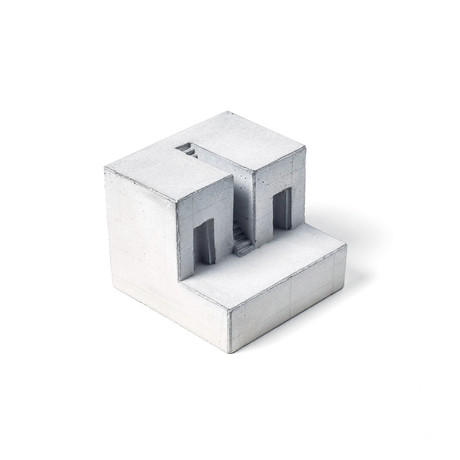 Miniature Concrete Home #8