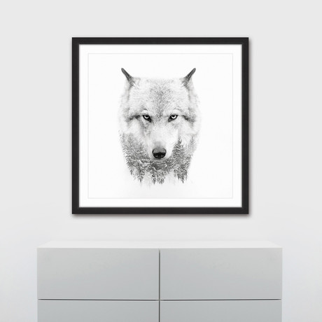 Wolf Spirit // Framed Painting Print