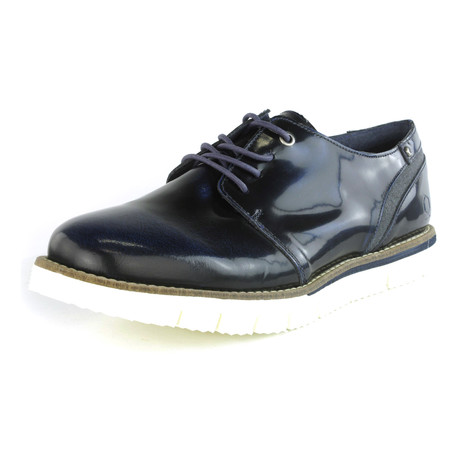 Joy Patent Leather Derby // Blue (US: 7)