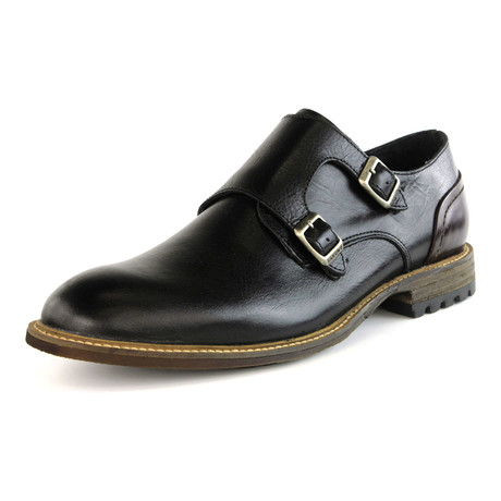 Thinker Double Monkstrap // Black (US: 7)