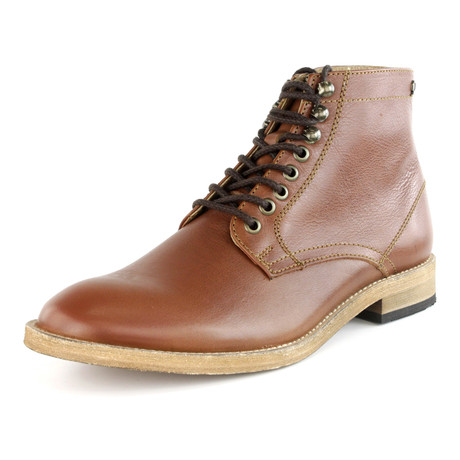 Ferreiro Lace-Up Boot // Tan