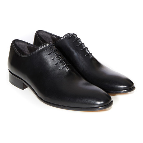 Plain Toe Classic Oxford // Black