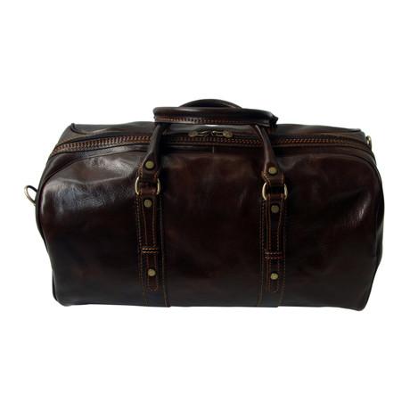 Siena Travel Bag // Dark Brown