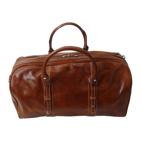 Siena Travel Bag // Tan