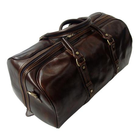 Venice Travel Bag // Dark Brown