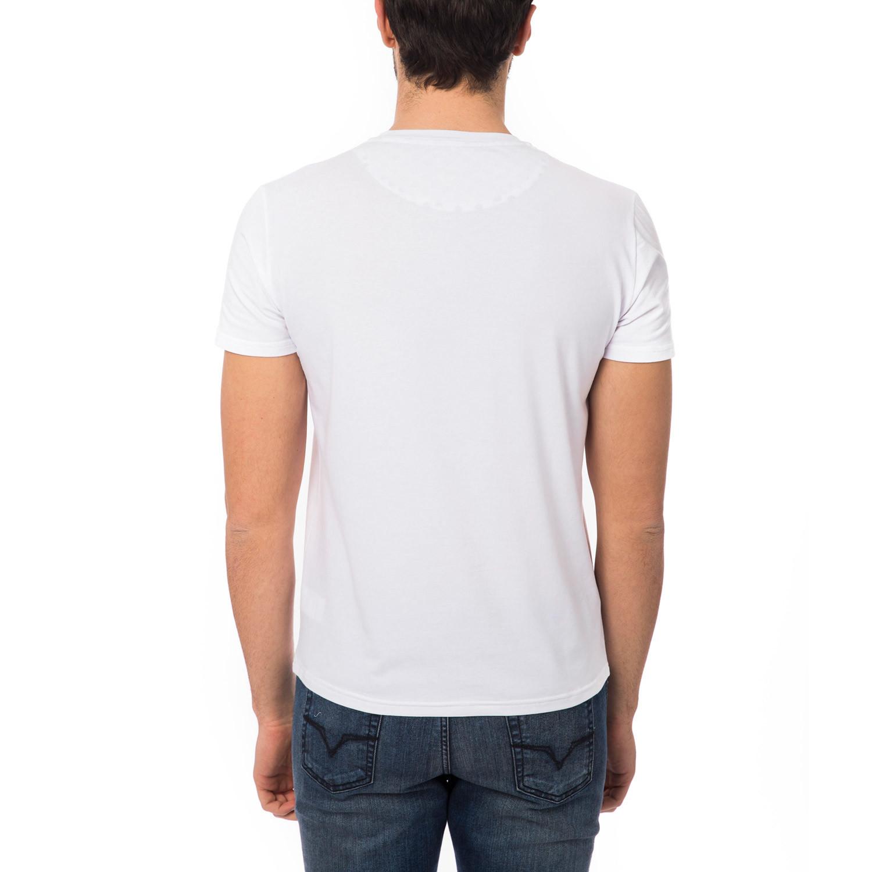 Basic Polka Dot T Shirt White L Bagutta Touch Of