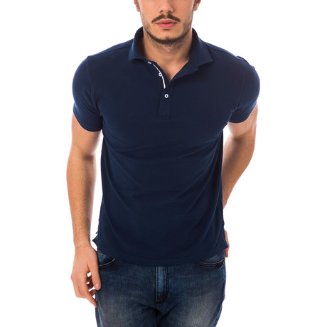 Basic Polo // Navy
