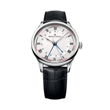 Maurice Lacroix Masterpiece Cinq Aiguilles Automatic // MP6507-SS001-112 // Store Display