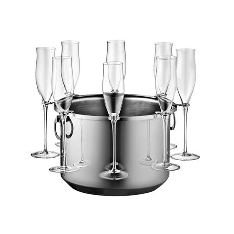 Bottega Champagne Bucket (Stainless Steel)