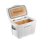 Gold Premium Cooler // White (30 Quarts)
