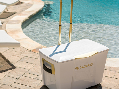 Photo of Sovaro State-Of-The-Art Coolers Gold Premium Cooler // White (30 Quarts) by Touch Of Modern
