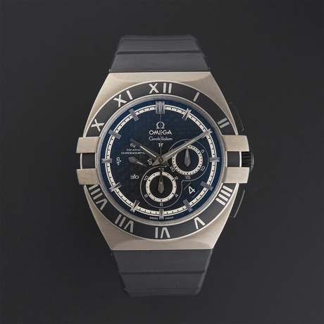 Omega Double Eagle Mission Hills Chronograph Automatic // 121.92.41.50.01.001 // Store Display