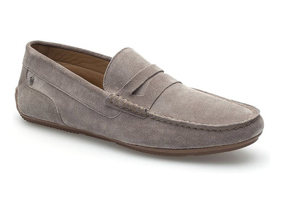 Touch Of Modern - Clearance: Footwear Step Out In Style  Pennyloafer Boat Driver // Grey (Euro: 43) Photo