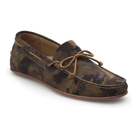 Roped Pennyloafer // Camouflage