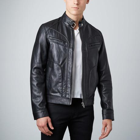Classic Leather Jacket // Black