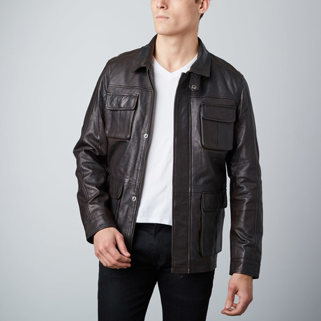 Rider Jacket // Dark Brown