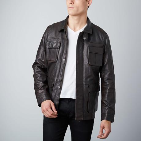 Rider Jacket // Dark Brown