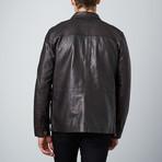 Rider Jacket // Dark Brown (S)