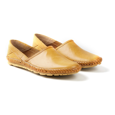 Tycoon Sandals // Natural