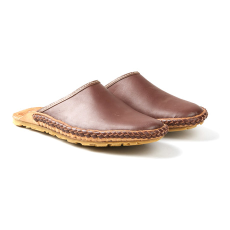 Tycoon Open Sandals // Brown