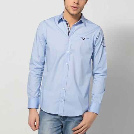 Jerome Long-Sleeve Shirt // Light Blue         (2XL)