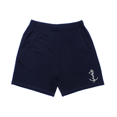 We Are All Smith // Anchor Athletic Short // Navy Blue