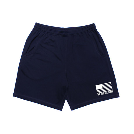 We Are All Smith // We Are All Smith Athletic Short // Navy Blue