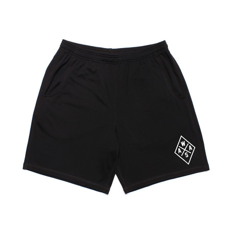 We Are All Smith // WAAS Athletic Short // Black