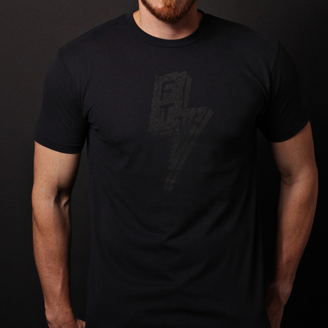 We Are All Smith // Forever Two Wheels Crewneck T-Shirt // Black
