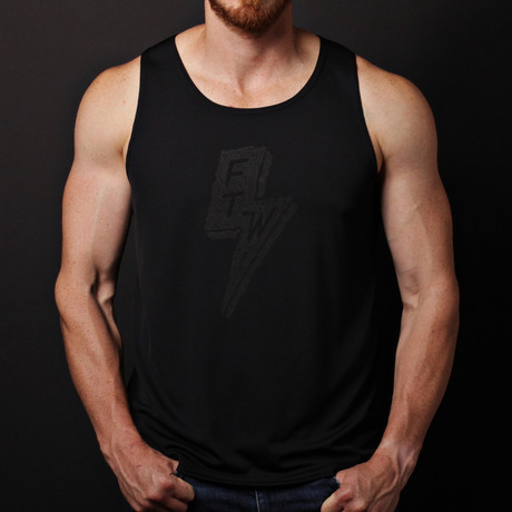 We Are All Smith // Forever Two Wheels Tank // Black