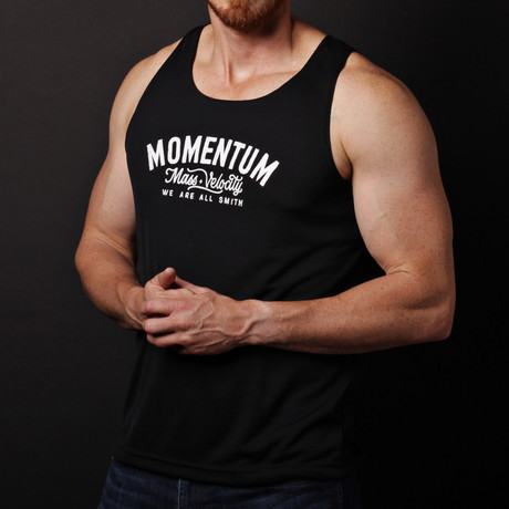We Are All Smith // Momentum Tank // Black