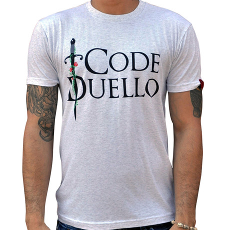 Dueling Co. // Code Duello T-Shirt // Heather White