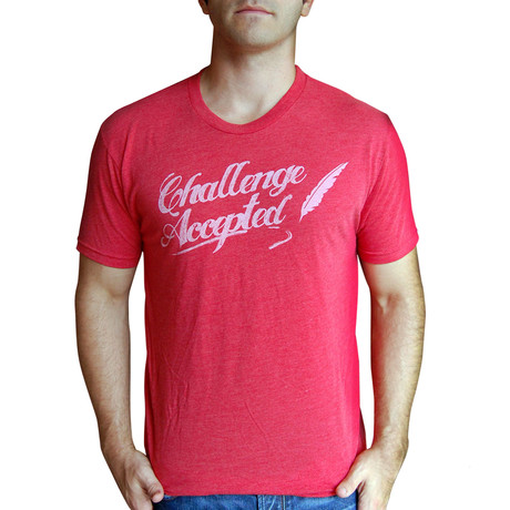 Dueling Co. // Challenge Accepted T-Shirt // Vintage Red