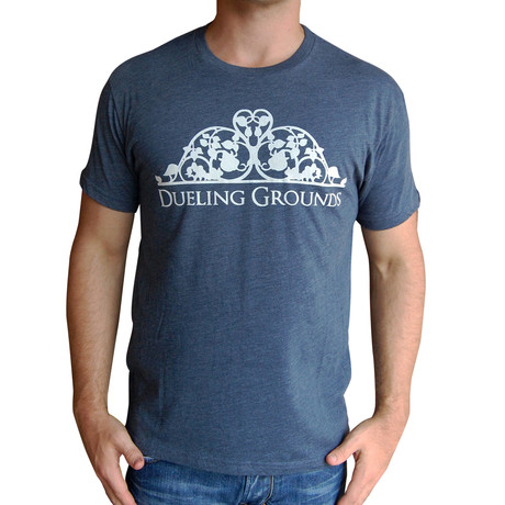 Dueling Co. // Dueling Grounds T-Shirt // Indigo Blue