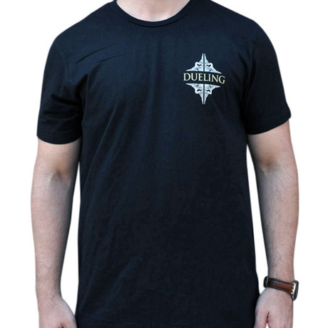 Dueling Co. // Last Remnant of a Civilized Society T-Shirt // Black