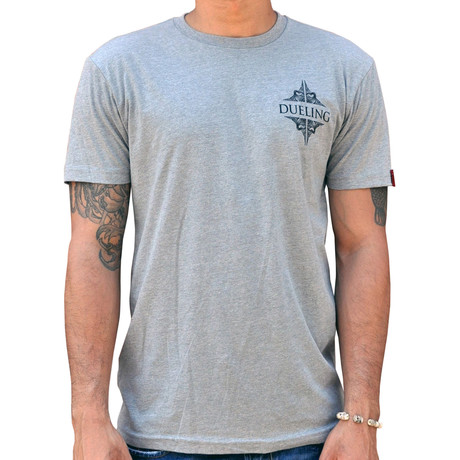 Dueling Co. // Last Remnant of a Civilized Society T-Shirt // Heather Grey