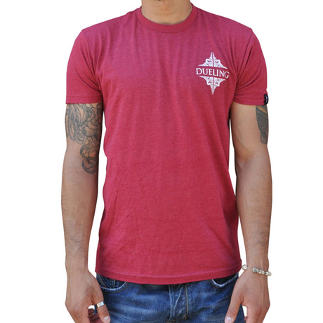 Dueling Co. // Last Remnant of a Civilized Society T-Shirt // Cardinal Red
