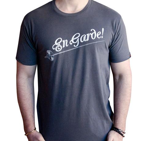 Dueling Co. // En Garde T-Shirt // Heavy Metal Grey